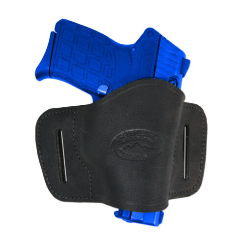New Barsony Black Leather Quick Slide Holster Kel-Tec Taurus Sccy 380 Ultra Comp