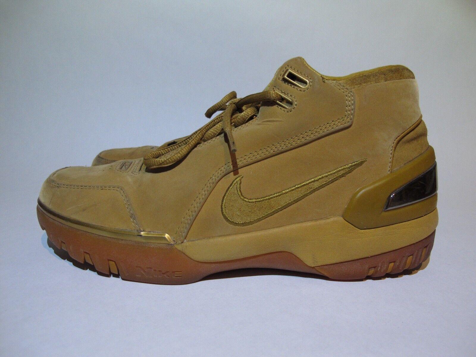 2003 OG LeBron Nike Zoom Generation Wheat All Star Game ASG AZG Sz 9  supreme