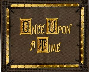 Ecusson-Once-Upon-a-Time-ecusson-livre-d-039-Henry-OUAT-Henry-039-s-book-replica-patch