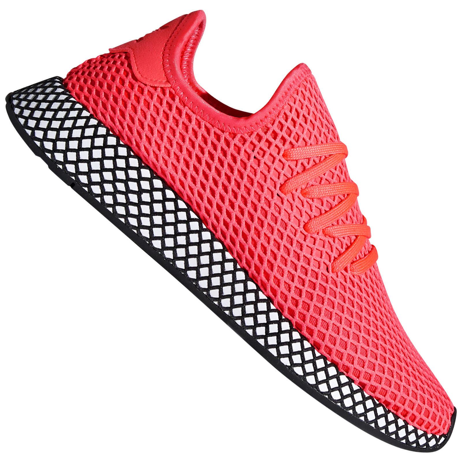 adidas Originals Deerupt Runner Herren-Sneaker Turnschuhe Sportschuhe Schuhe NEU