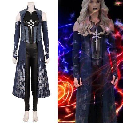 The Flash Season 6 Killer Frost Cosplay Costume Caitlin Snow Cosplay Suit Coat
