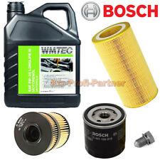 BOSCH Ölfilter +5 Liter WMTec SAE 5W-30 Longlife III Öl VW Scirocco 2,0TSI 200PS
