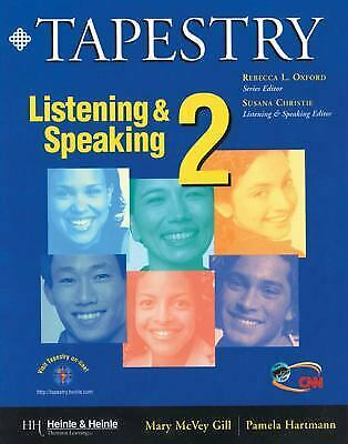 Listening and Speaking by Hartmann, Pamela -ExLibrary