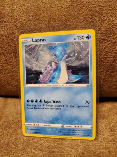 Holographic Promo Lapras Champion/'s Path SWSH051 Mint//NM Pokemon TCG