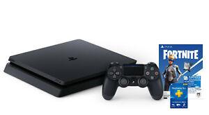 NEW Sony PlayStation PS4 1TB Fortnite Neo Versa + 3-Month PS Membership Bundle