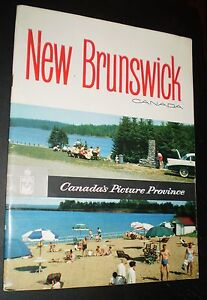 vintage new brunswick promotional travel booklet circa 1950s ebay
