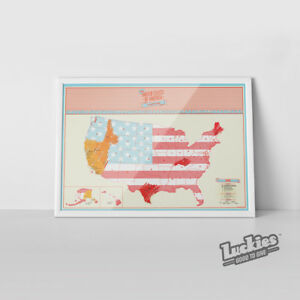 Scratch Map ® USA Scratch off World Map Poster by INVENTORS OF ...