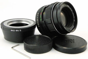 Helios-44m-4-2-58-Objektiv-Micro-M-4-3-MFT-Mount-Olympus-OM-D-PEN-Panasonic-Lumix
