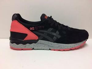 watch 95a6a a66d5 Details about ASICS GEL-LYTE V H7N4L-9090 BLACK/INFRARED RED PINK-SPECKLE  GREY - SUEDE/LEATHER