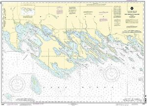 NOAA Chart Les Cheneaux Islands 22nd Edition 14885
