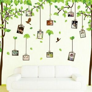 Memory Photo Frame Tree Wall Stickers Diy Family Tree Wall Decal