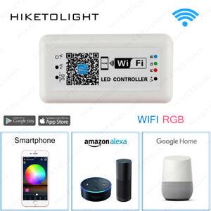 12-24V-WIFI-LED-RGB-Controller-Dimmer-for-5050-Strip-Light-APP-Smartphone-Alexa