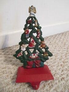 Christmas In Angel Falls Cast.Details About Midwest Cannon Falls Christmas Tree With Angel Stocking Holder Cast Iron