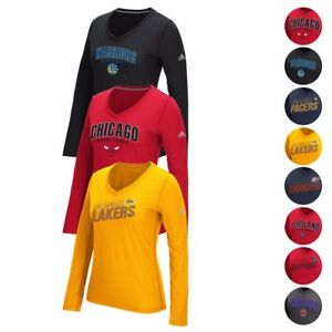 51a463a85cc9 Image is loading NBA-Adidas-Various-Ultimate-Tee-Climalite-Performance-Long-