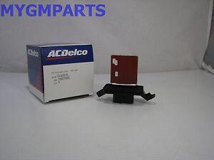 CHEVY-MALIBU-A-C-BLOWER-MOTOR-RESISTOR-4-WIRE-2004-2012-NEW-OEM-GM-15831065