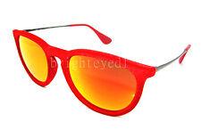 Authentic RAY-BAN Erika Red Velvet Sunglasses RB 4171 - 60766Q *NEW*