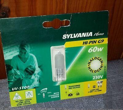 lampadina SYLVANIA ALOGENA HI-PIN G9 2000H 53//75W 230V 850 LUMEN dimmerabile