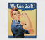 Rosie-The-Riveter-Vintage-Metal-Tin-Sign-Wall-Decor-Garage-Man-Cave-Home-Rustic thumbnail 4