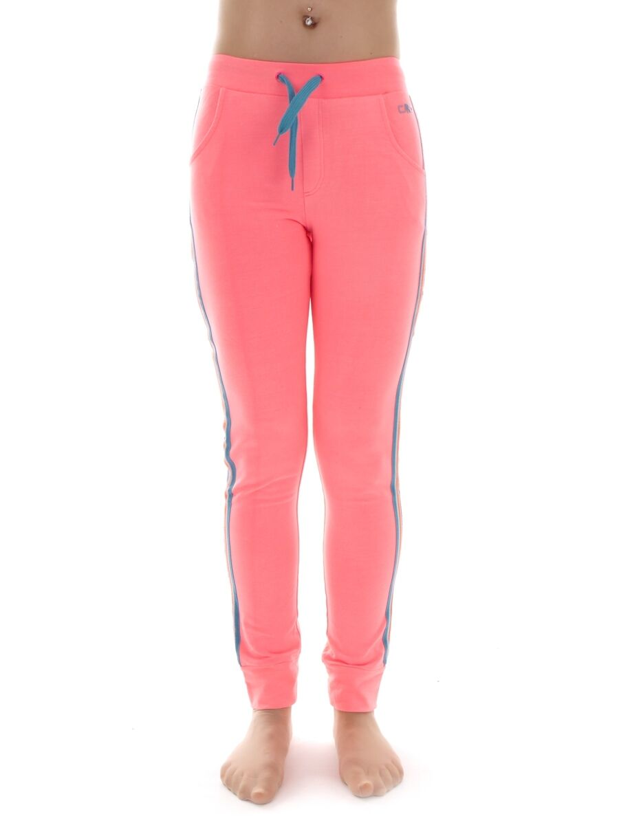 CMP Sweat Pants Leisure Pants Sports Pants Pink Drawstring Bags Stretchable
