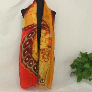 AIP-Vintage-Elegant-Wrap-Silk-Chiffon-Butterfly-Scarf-Printed-Long-Shawl07