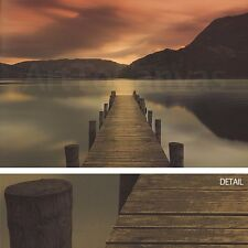 "40""x27"" ULLSWATER by MEL ALLEN SOFT SUNSET PHOTO ON CANVAS"
