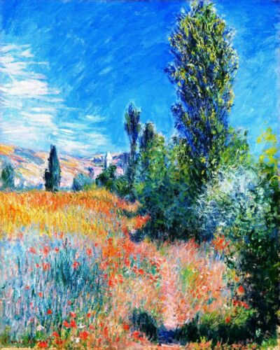 Landscape Island of San Martin Claude Monet Painting Paint By Numbers Kit DIY