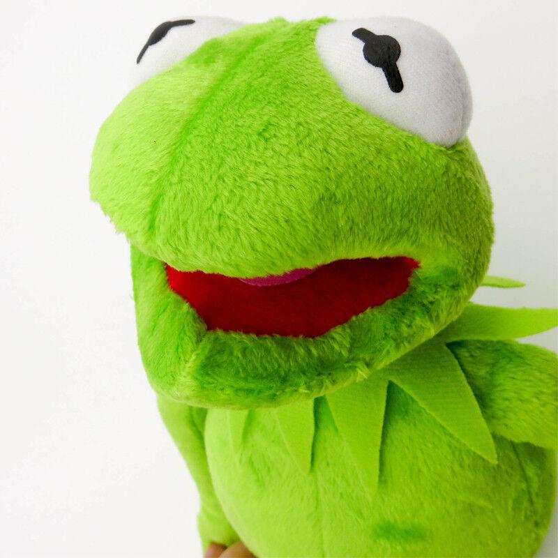 Eden Full Body Kermit the Frog stuffed Puppet Plush Toy Jim Henson hight quality