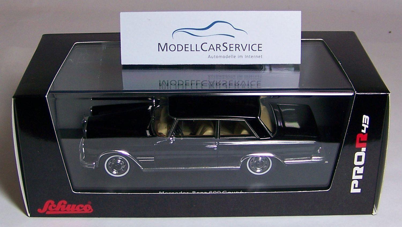 Schuco 1/43 resina: 08857 Mercedes-Benz 600 coupé  w100 ,  Nallinger , Nero