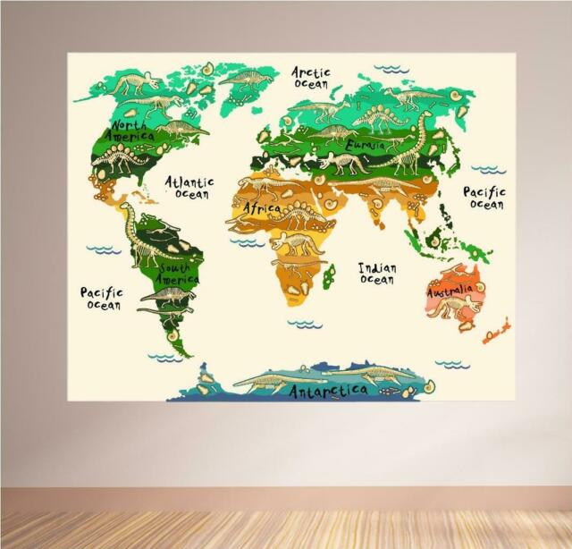"Smithsonian Teach Me Educational Kids Rug  UK Map 40/"" x 54/"""