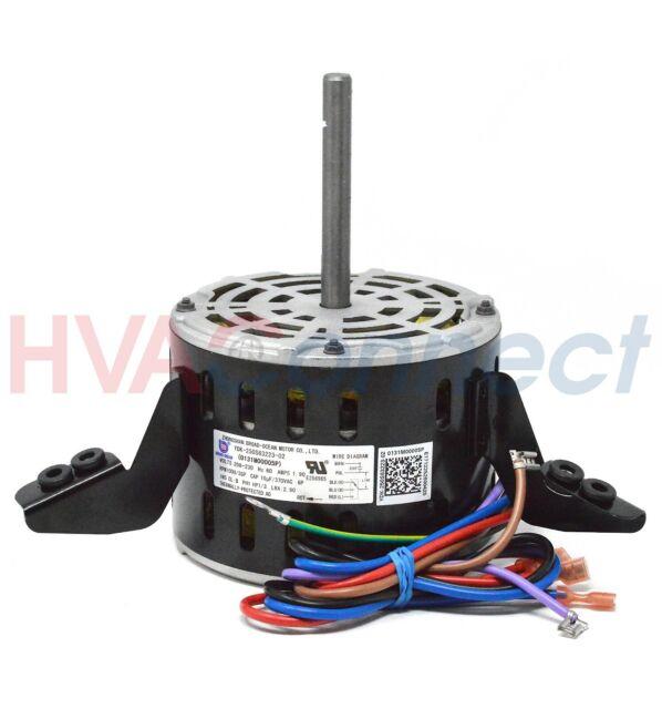 Goodman Janitrol GE Replacement Blower Fan Motor 5KCP39GGP993AS 1//3 HP 208-230v
