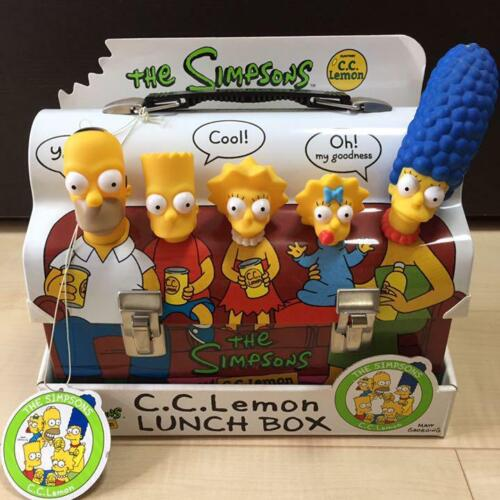 THE SIMPSONS C.C.Lemon Lunch Box Novelty Limited Excellent RARE NOT USED