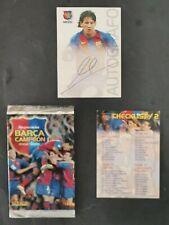 2004-05 PANINI MEGACRACKS новичок автограф LIONEL MESSI BARCA CAMPEON