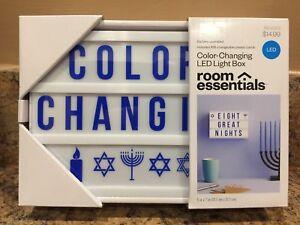 Novelty Room Essentials Diy Color Changing Led Light Box