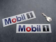 2x stickers auto moto Mobil 1 13cm decals pegatinas aufkleber car Bike A101-537