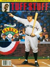 1992 Tuff Stuff Magazine: Babe Ruth - New York Yankees/Lou Gehrig