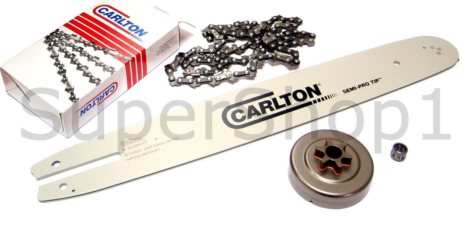 """1,3mm 3//8LP"""" Carlton 16-10-N156-RK Führungsschiene 40 cm"""