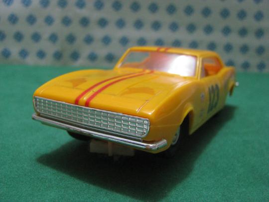 Vintage Slot Auto   Scalextric - Chevrolet Camaro - 1 32 Eldon - USA 1966