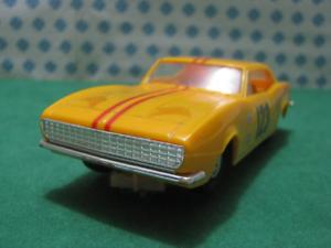 Vintage Slot Coche   Scalextric  -  CHEVROLET  CAMARO  - 1 32 Eldon - USA 1966