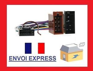 Cable adaptateur ISO autoradio KENWOOD KDC-6090R KDC-7021 KDC-7021SE KDC-7024