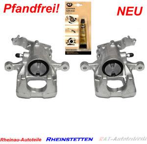 BREMSSATTEL-HINTEN-re-li-AUDI-SEAT-SKODA-VW-GOLF-VI-04-TOURAN-Ohne-Pfand