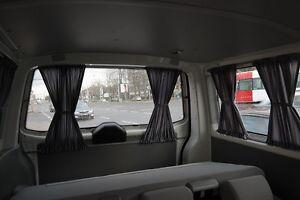 VW T5 & T6 MULTIVAN /TRANSPORTER Maß Gardinen Grau Nur für