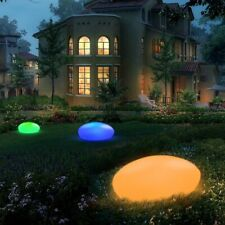Rattan Base Britta Products Solar Garden Globe LED Centerpiece Table Light