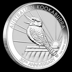 AUSTRALIE-1-Dollar-Argent-1-Once-Kookaburra-2020-1-Oz-silver-coin-Australia