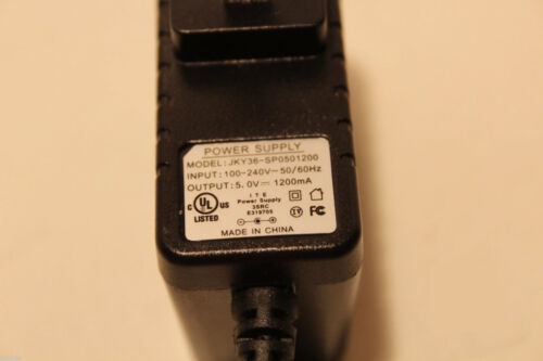 GENUINE JKY36-SP0501200 5V 1200mA TABLET PC POWER SUPPLY CHARGER FAST SHIPPING
