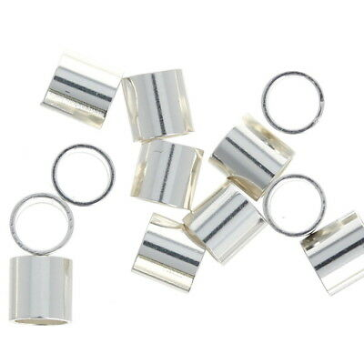 50 Sterling Silver 3mm Crimp Bead Cover