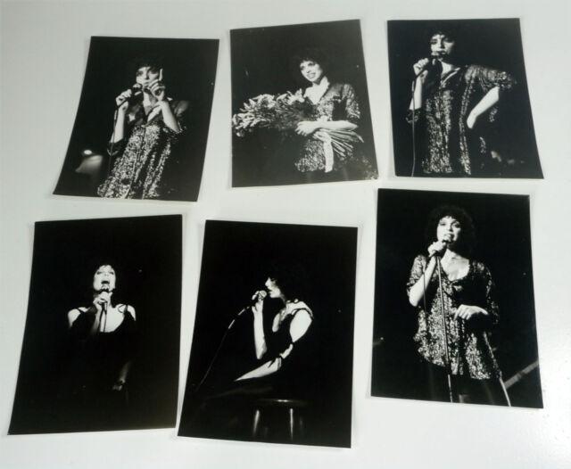 HELEN SCHNEIDER - Paket: 6x diverse Promo Presse FOTO Publicity Photo picture