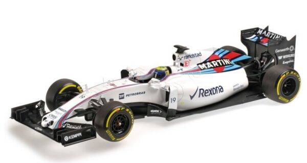 Williams MERCEDES fw37 n. 19 formula 1 2015 (Felipe Massa)