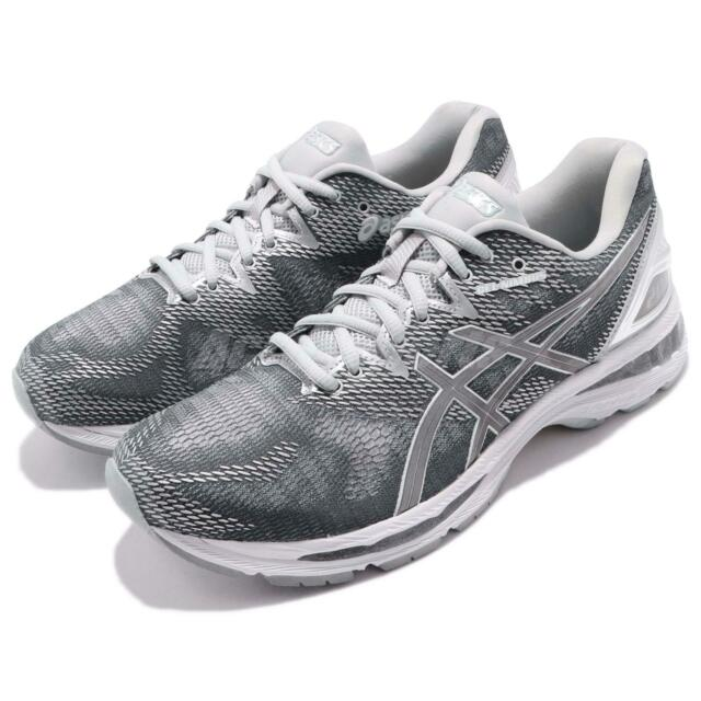 ASICS Gel-nimbus 20 Platinum Carbon Silver White Men Running Shoes  T836n-9793 12.5