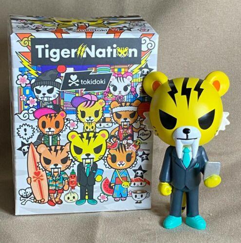 Tokidoki Tiger Nation Salary Man BRAND NEW in Box!