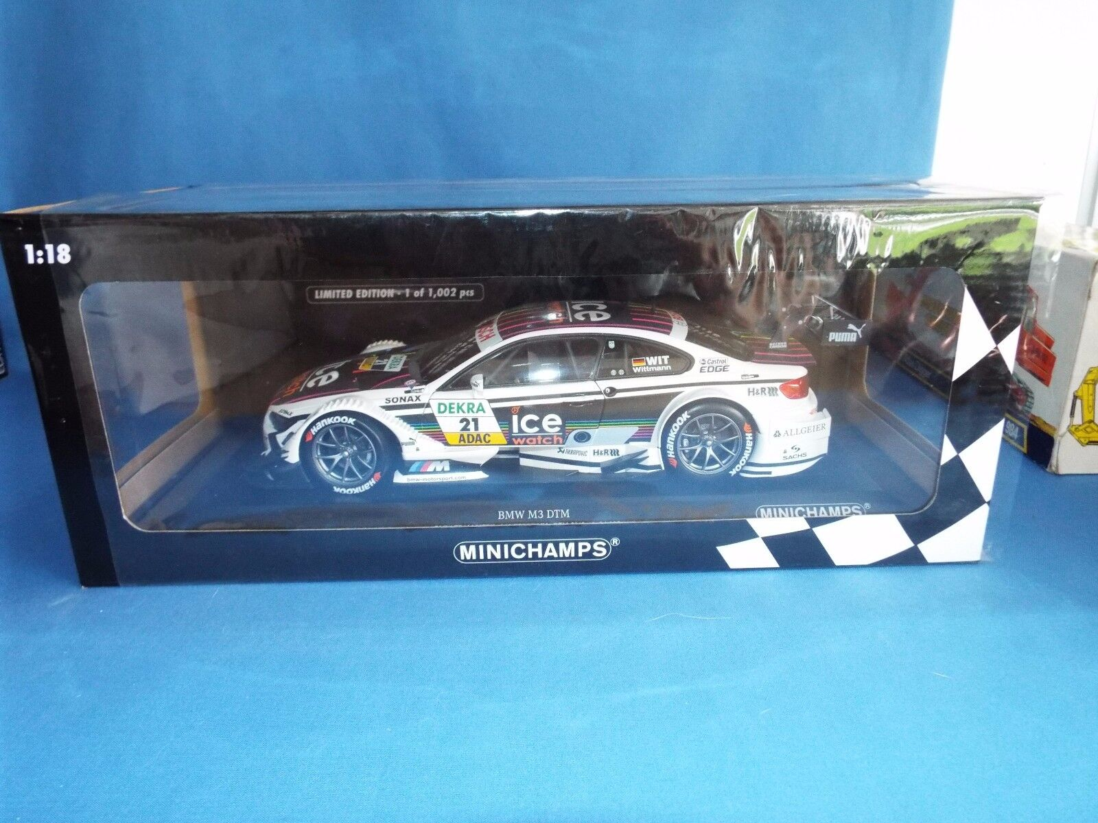 Minichamps No 120877 B M W M3 DTM 2013 1 of 1002 produced